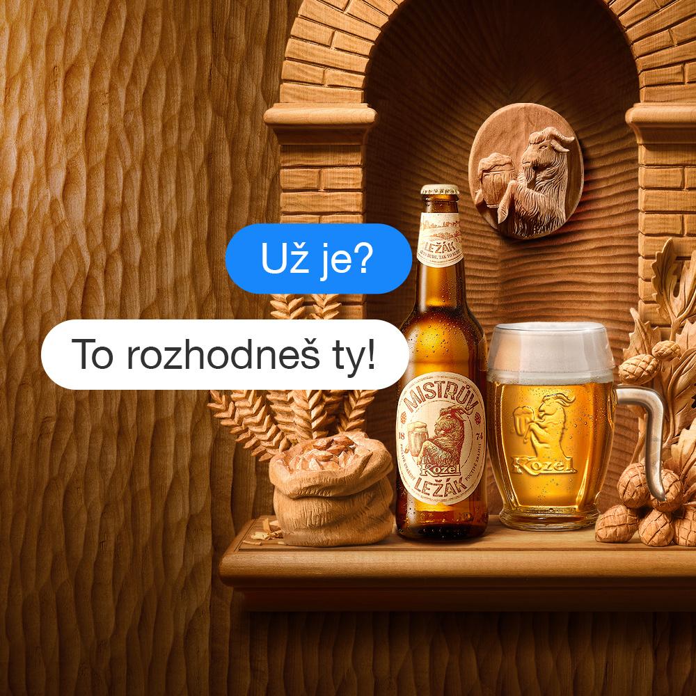 Představujeme Mistrův ležák – první pivní messenger hru - Reklamní agentura  TRIAD Advertising 53d717d5f4d